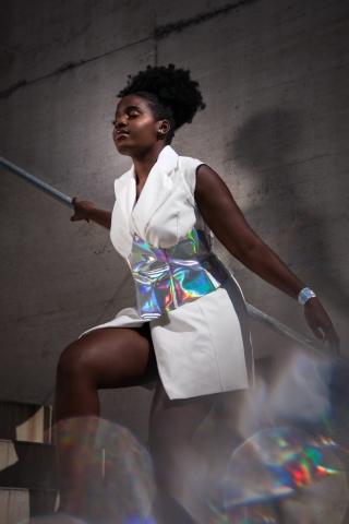 """PURE"" by Designer Jenny Lu. Simone Gernhardt - Lensbaby Velvet & Omni Filter Photography"