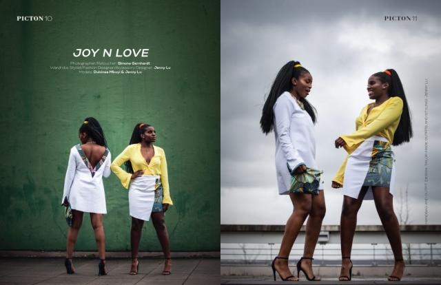 Veröffentlicht im Picton Magazine - Black 05/2019, Models: Jenny Lu und Dulci Mbuyi