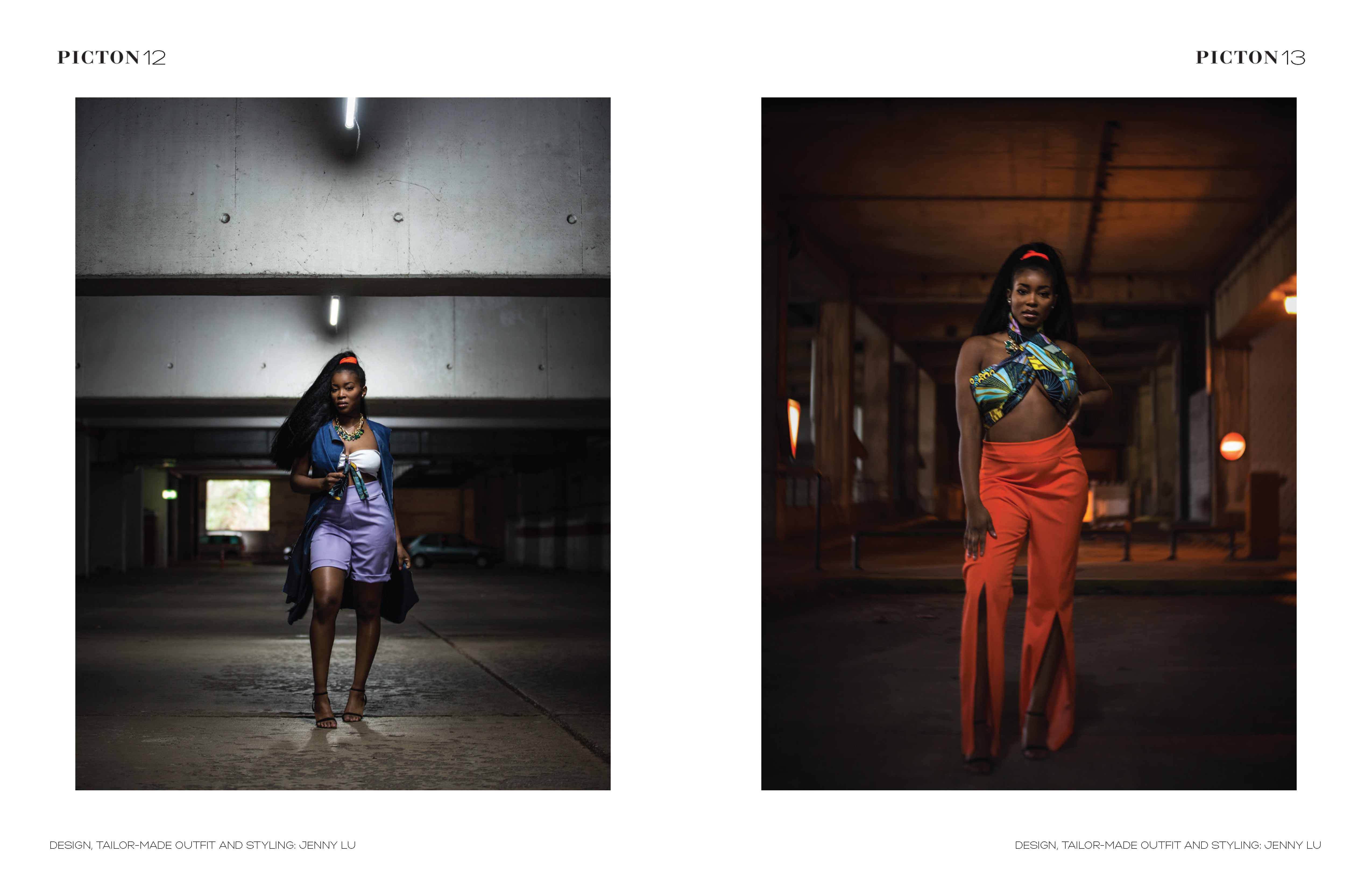 Veröffentlicht im Picton Magazine - Black 05/2019, Model: Dulci Mbuyi